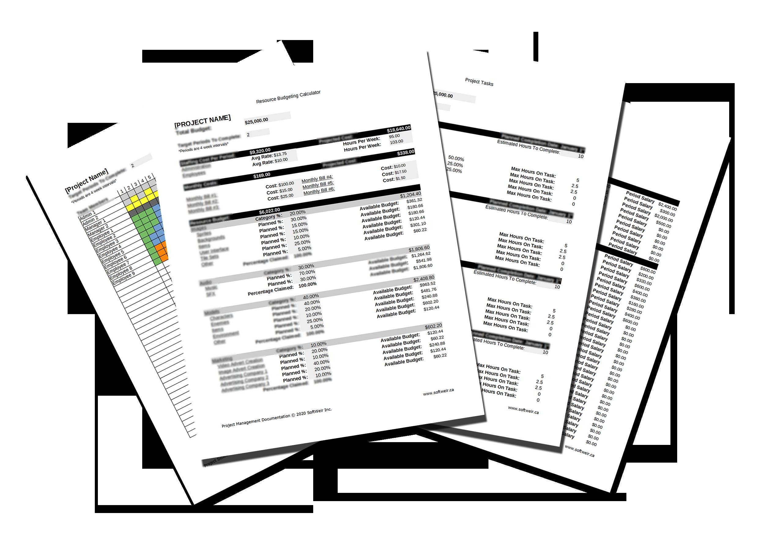 Project Management Documentation   SoftWeir Inc.
